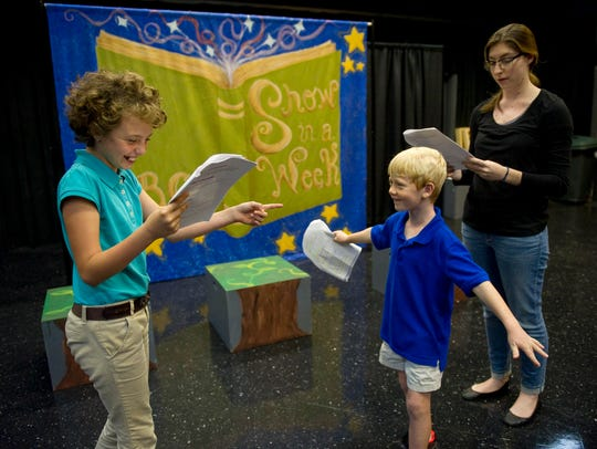 At theater camps, children learn all the skills they