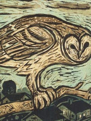 Kent Ambler of Greenville, S.C., will exhibit his prints