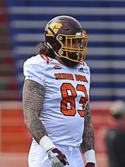 NFL draft hopeful Tyler Conklin of Central Michigan