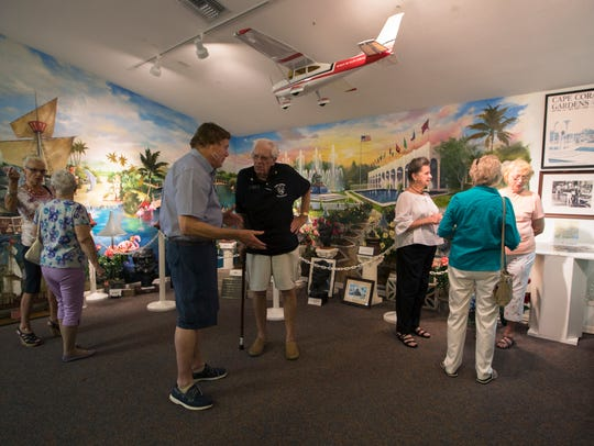 The Cape Coral Historical Society hosted its open house