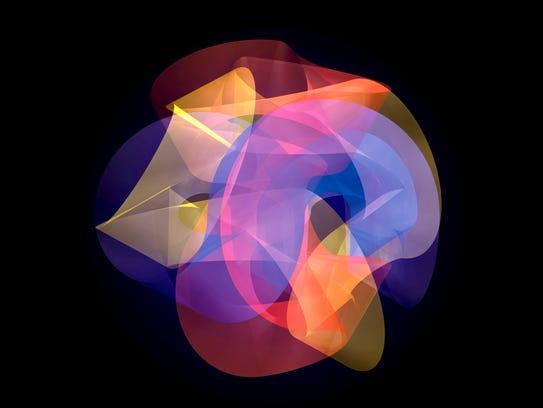 """""""Calabi I,"""" 2008 digital print of a Quantics sculpture"""