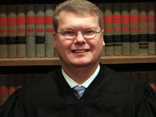 Sauk County Circuit Judge Michael Screnock.