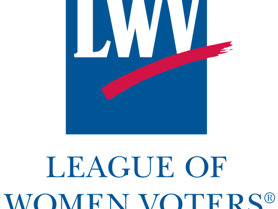 The League of Women Voters logo.