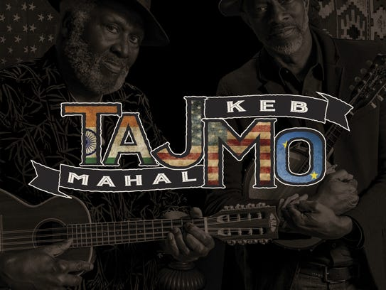 """The cover of """"TajMo,"""" a release by Taj Mahal and Keb'"""