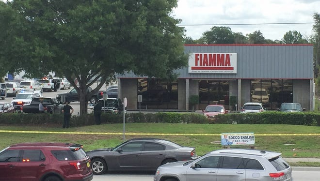 Five people were fatally shot Monday morning at Fiamma, Inc., in Orlando. The gunman then killed himself, according to the Orange County Sheriff's Office.