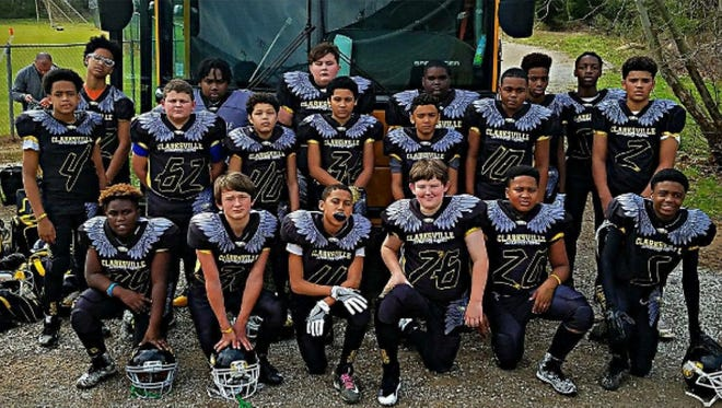 The Screaming Eagles Youth Football Team.