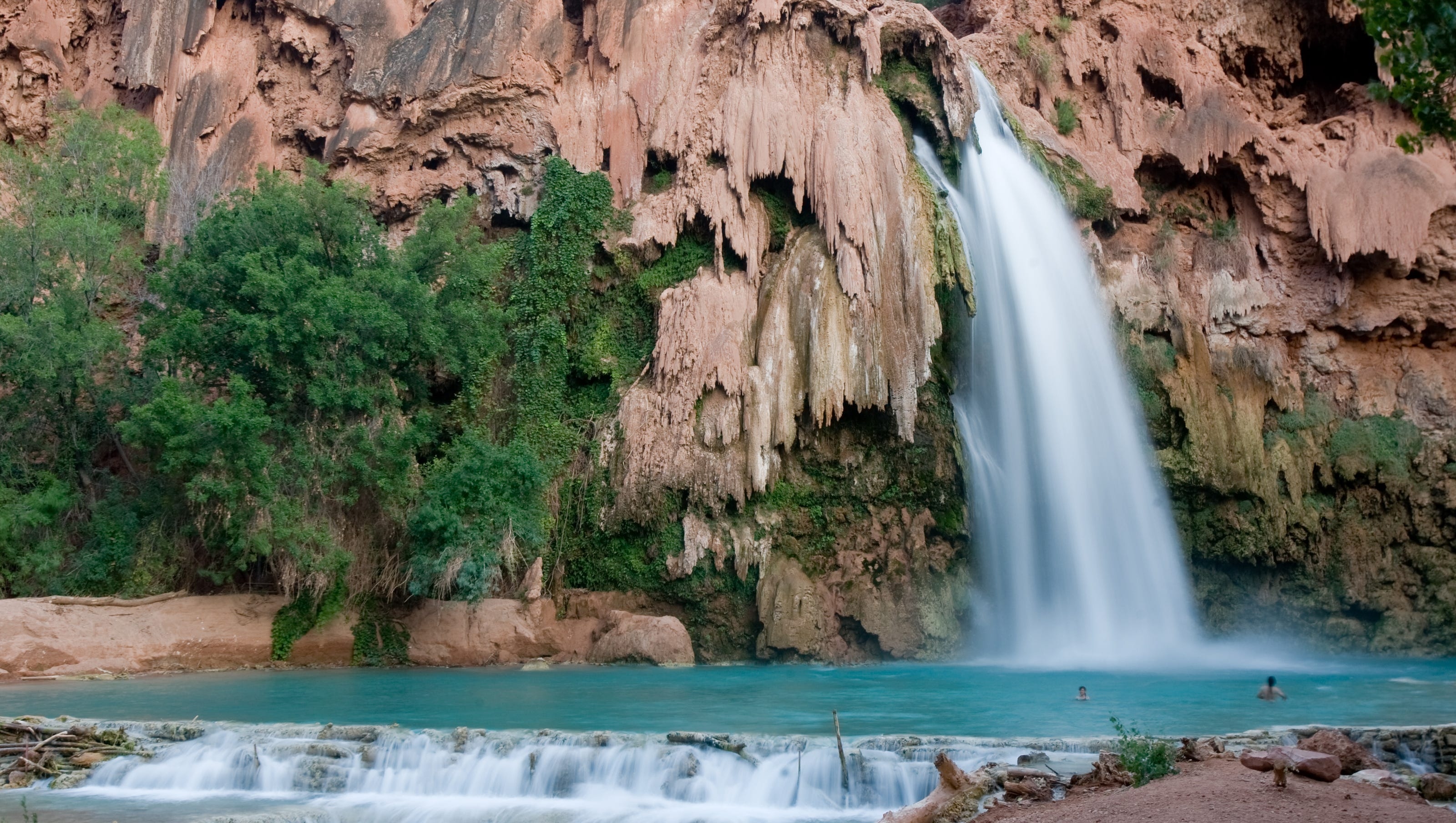 it's nearly impossible to get a permit for the havasupai waterfalls