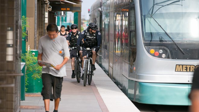 Downtown Mesa and ASU are a perfect match: The two locations are linked by light rail, only a few minutes apart.
