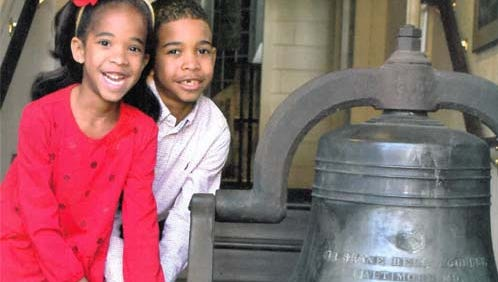 Folks will get a chance to ring the Hill School Bell during a dedication ceremony Saturday, Oct. 1.