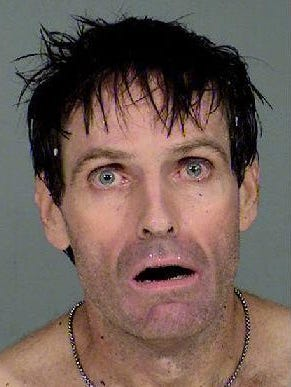 Christopher Fulton, 45, was arrested on Aug. 28, 2014 after Paradise Valley police said he broke into a home and was under the influence of drugs and alcohol.