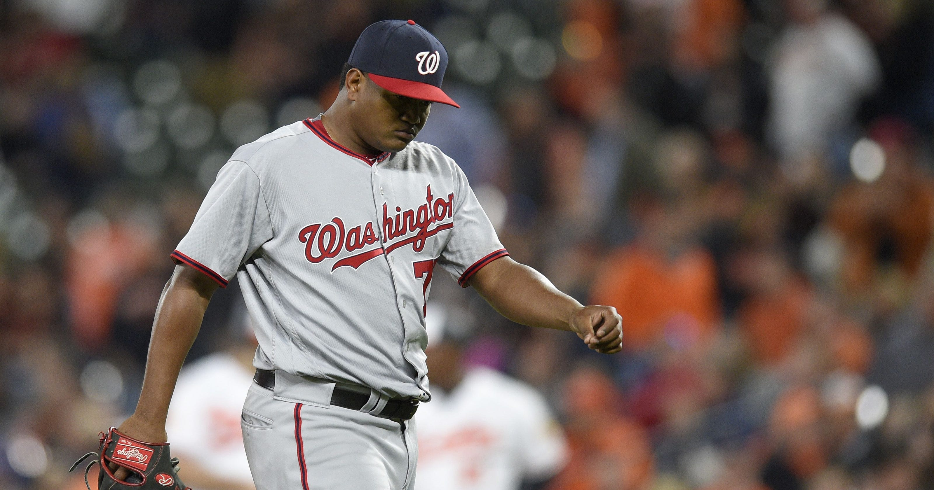 9dfd17999db Washington Nationals  Dusty Baker feeling  emotional toll  as bullpen blows  another game