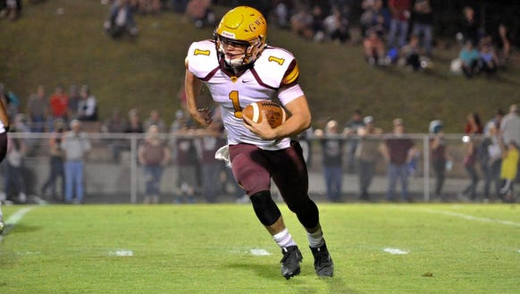 Scenes from Friday's Cherokee at Swain County football