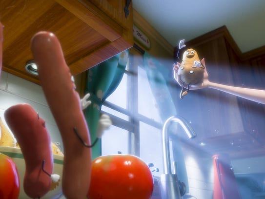 "Potatoe (Greg Tiernan) in ""Sausage Party."""