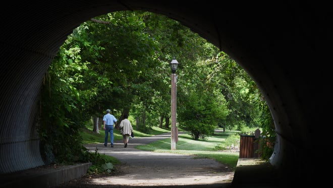 Coshocton officals hope to connect the Lake Park path system to downtown Coshocton with a new project to bring the path further into the city.