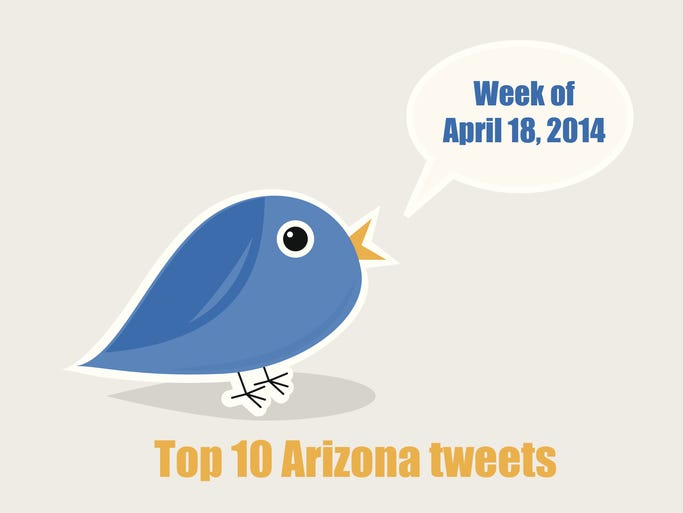We've got taxes, last-minute lawmaker antics and a Nevada rancher who captivated Arizona's heart (or at least its eye rolls) in this week's top 10 tweets countdown.