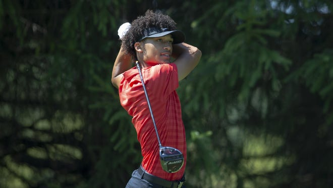 Marcus Smith, shown in the final round of last year's Men's City golf tourney at Aldeen, edged nine-time champ Jamie Hogan in a plahyoff last year to become one of the tourney's youngest winners ever at age 18. The tourney has now dropped its age limit from 16 to 14.