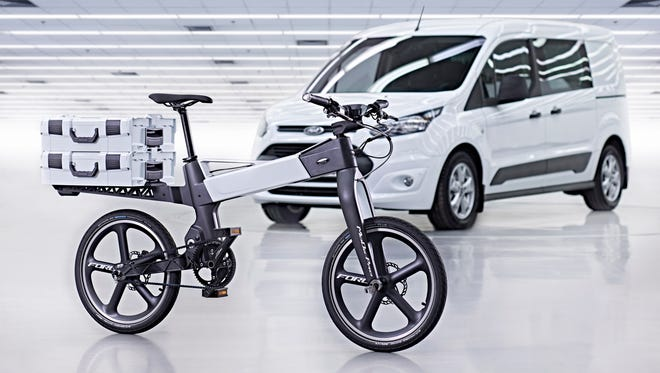 Ford is working to create an electronic bicycle that will incorporate similar technology found in its cars.