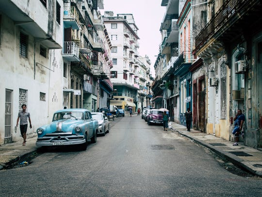 "Alex Tonetti: ""There was something about the forbidden-ness of Cuba that drew me to go there. This shot was taken on one of the many vintage car-lined streets in downtown Centro Habana.""  Alex Tonetti is a Fairport native who got into photography while in college as a creative escape from his software engineering major."
