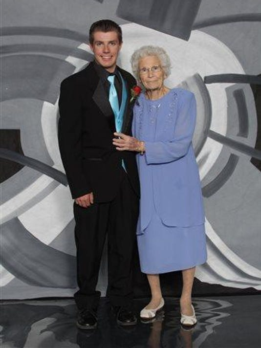 Great Grandmother's Prom