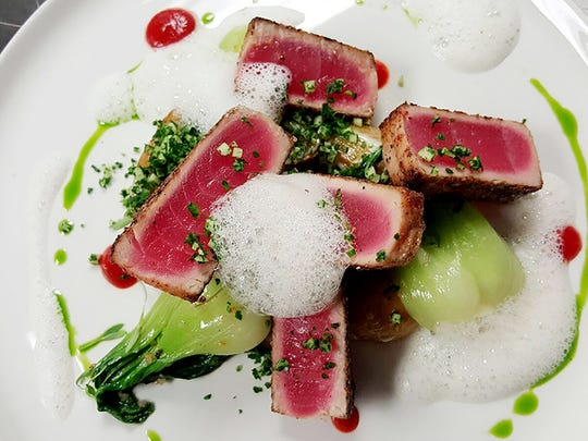 Crusted Ahi Tuna from Brickyard Downtown in Chandler.