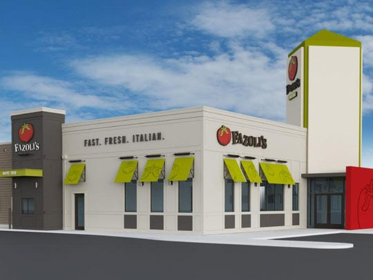 Fazoli's filed initial plans to build a location off South Boulevard near Papa Johns Pizza.
