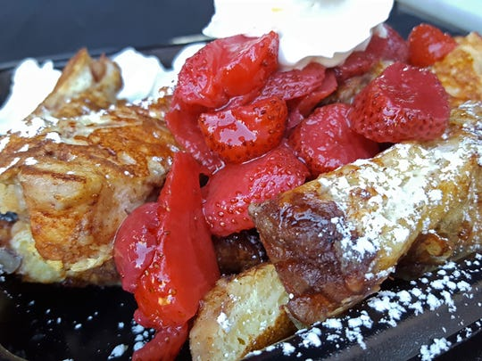 French toast at Breakfast Delights was the first dish