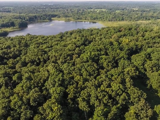 The Haven Hill Natural Area has all of southern Michigan's