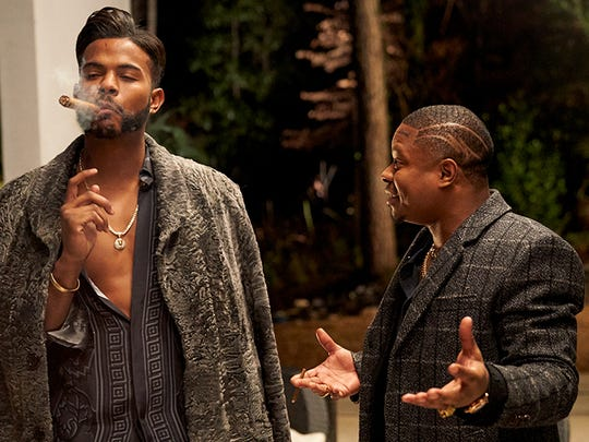 Trevor Jackson, left, and Jason Mitchell (better known by his stage name Big Boi) in SuperFly, opened this week.