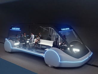 Elon Musk: Rapid-transit test tunnel under LA opens to public Dec. 10
