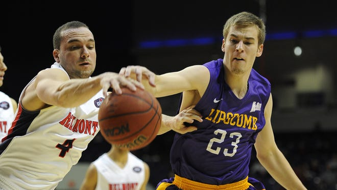 The Belmont and Lipscomb men's basketball teams will play Nov. 27 and Dec. 4.