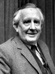 """""""Lord of the Rings"""" author J.R.R. Tolkien is the subject"""