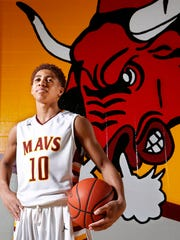 McCutcheon sophomore Robert Phinisee is the Journal & Courier Big School Player of the Year for basketball.