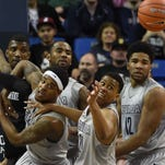 Action photos of the San Diego State at Nevada game Tuesday night Jan. 27, 2016.