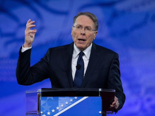 Wayne LaPierre, executive vice president and CEO of
