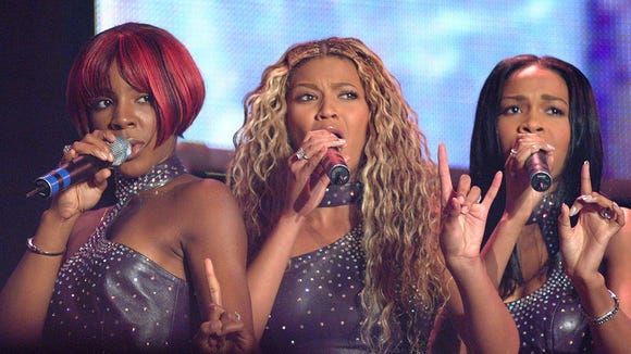 Destiny's Child performs at the Essence Music Festival