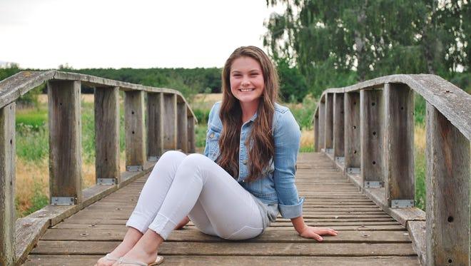 Silverton High School Junior, Megan Mannion.