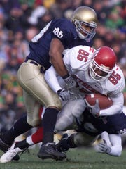 Former Rutgers tight end L.J. Smith returned to school to finish earning his degree after his NFL career ended.