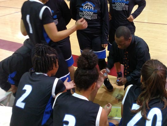 Cathedral City girls' basketball head coach Marques