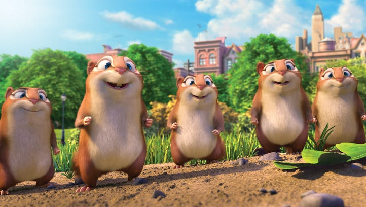 """""""The Nut Job 2: Nutty By Nature"""" is now in theaters"""