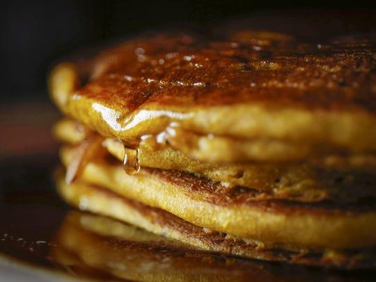 Enjoy a pancake breakfast in celebration of maple sugaring