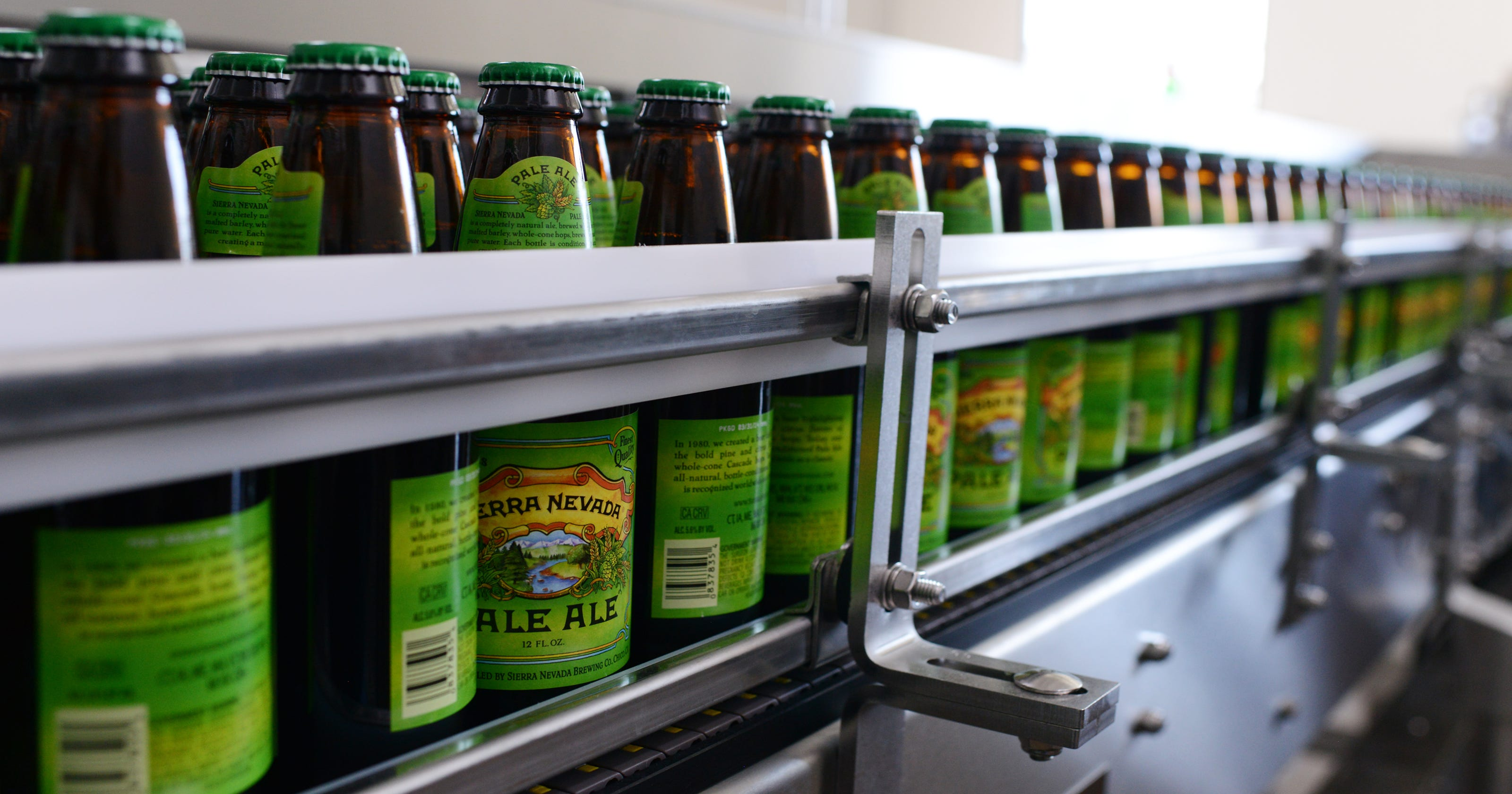 Asheville-brewed beer heads to Europe, across US