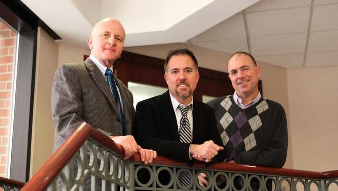 Ray Martino, left, Chris Flynn and Kevin Flynn.