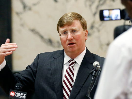 Lt. Gov. Tate Reeves talks about controversial state-funded