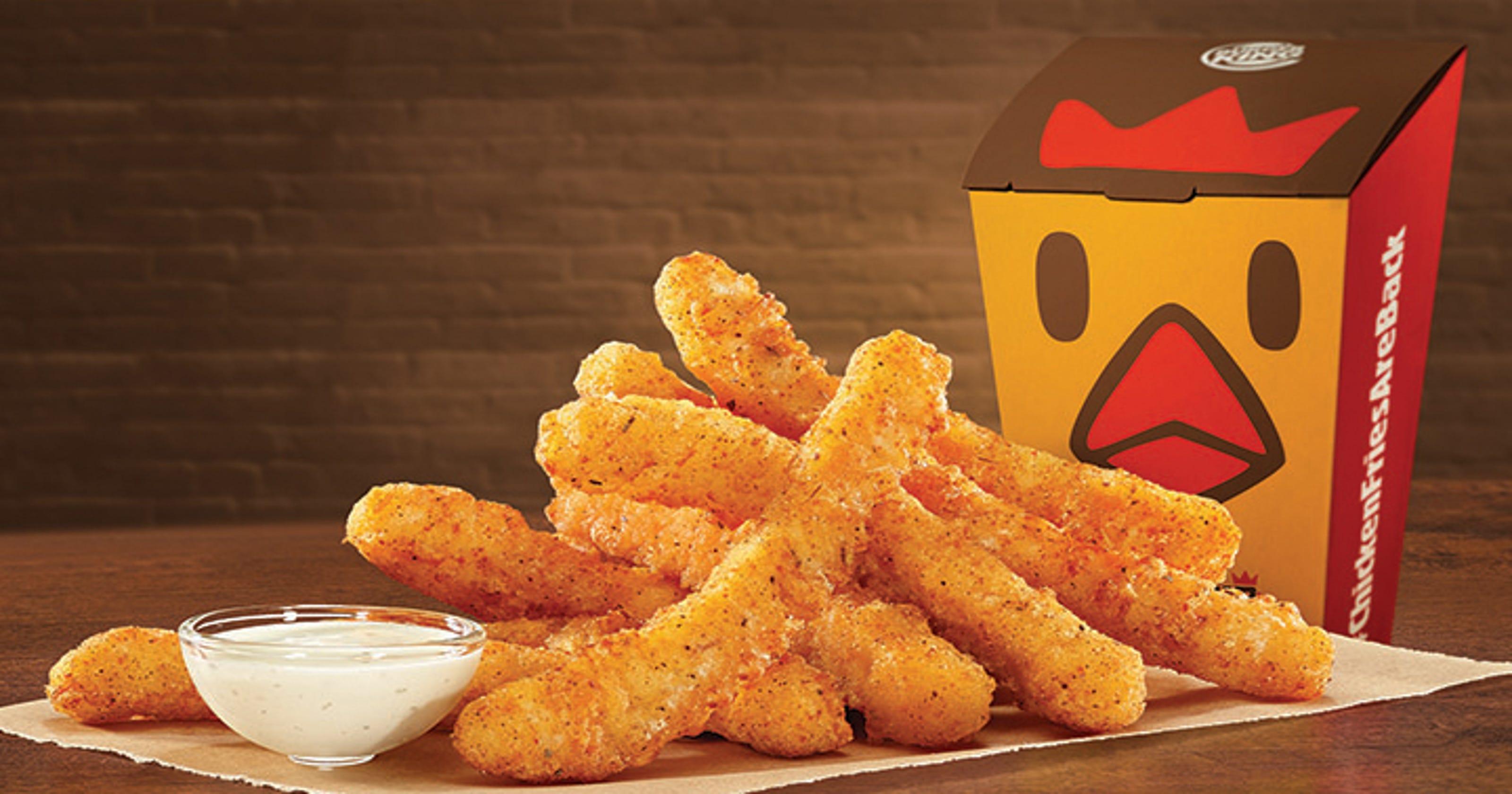 Burger King Chicken Fries Permanent
