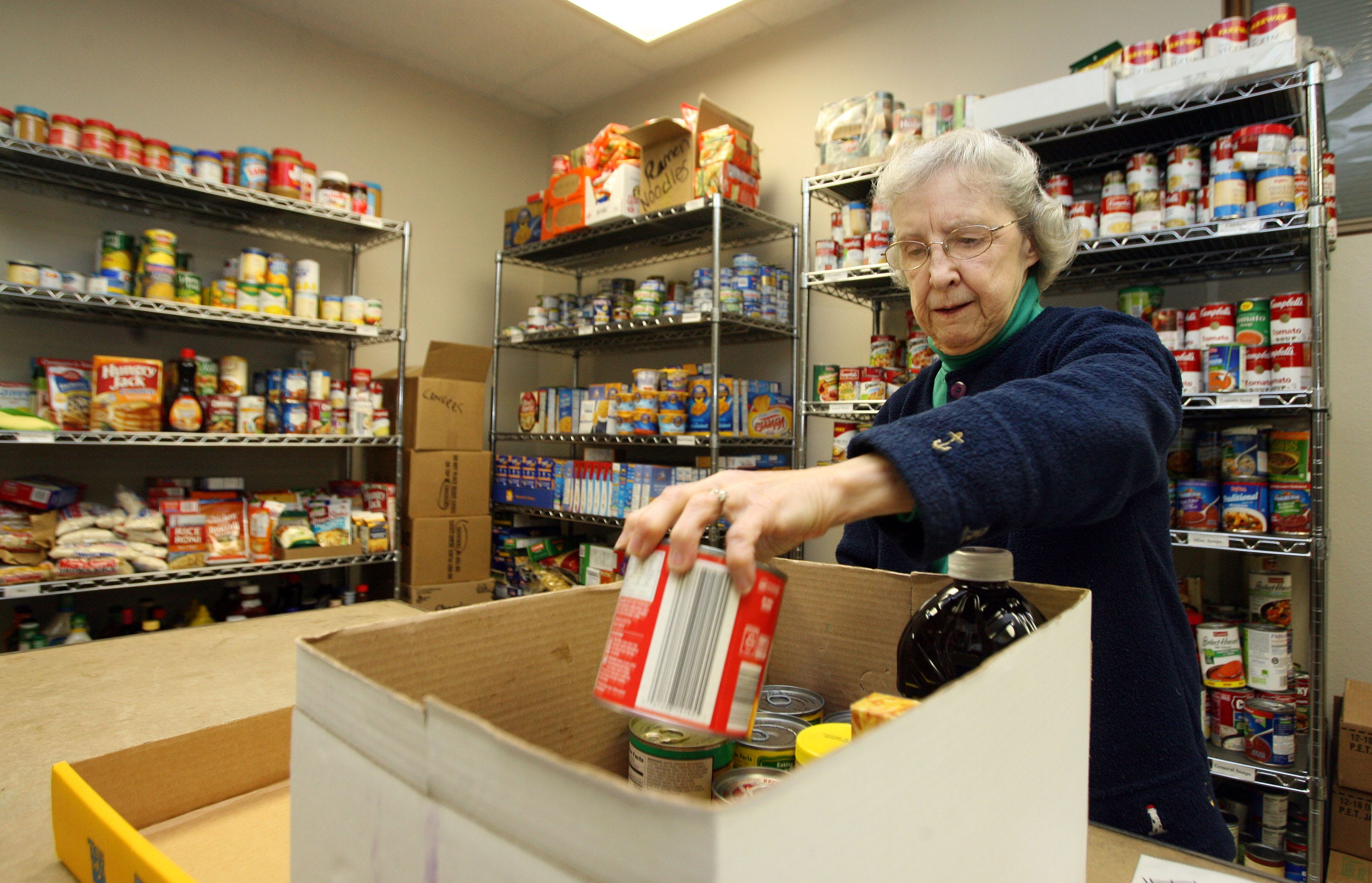 DMARC Donate healthy options to food pantries