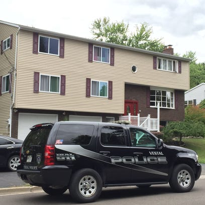 Vestal police investigated a home invasion at 4208