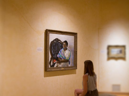 Admire the art collection in any of the 24 exhibition