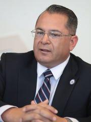 Riverside County Supervisor candidate V. Manuel Perez