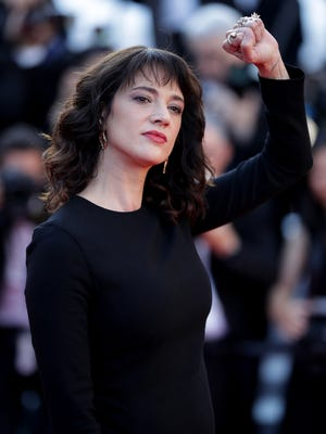 Asia Argento attends the Closing Ceremony & screening of 'The Man Who Killed Don Quixote' during the Cannes Film Festival on May 19.
