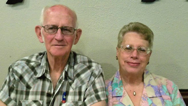 Verla and Harry Brewer, of Farmington, will celebrate 50 years of marriage on July 30.